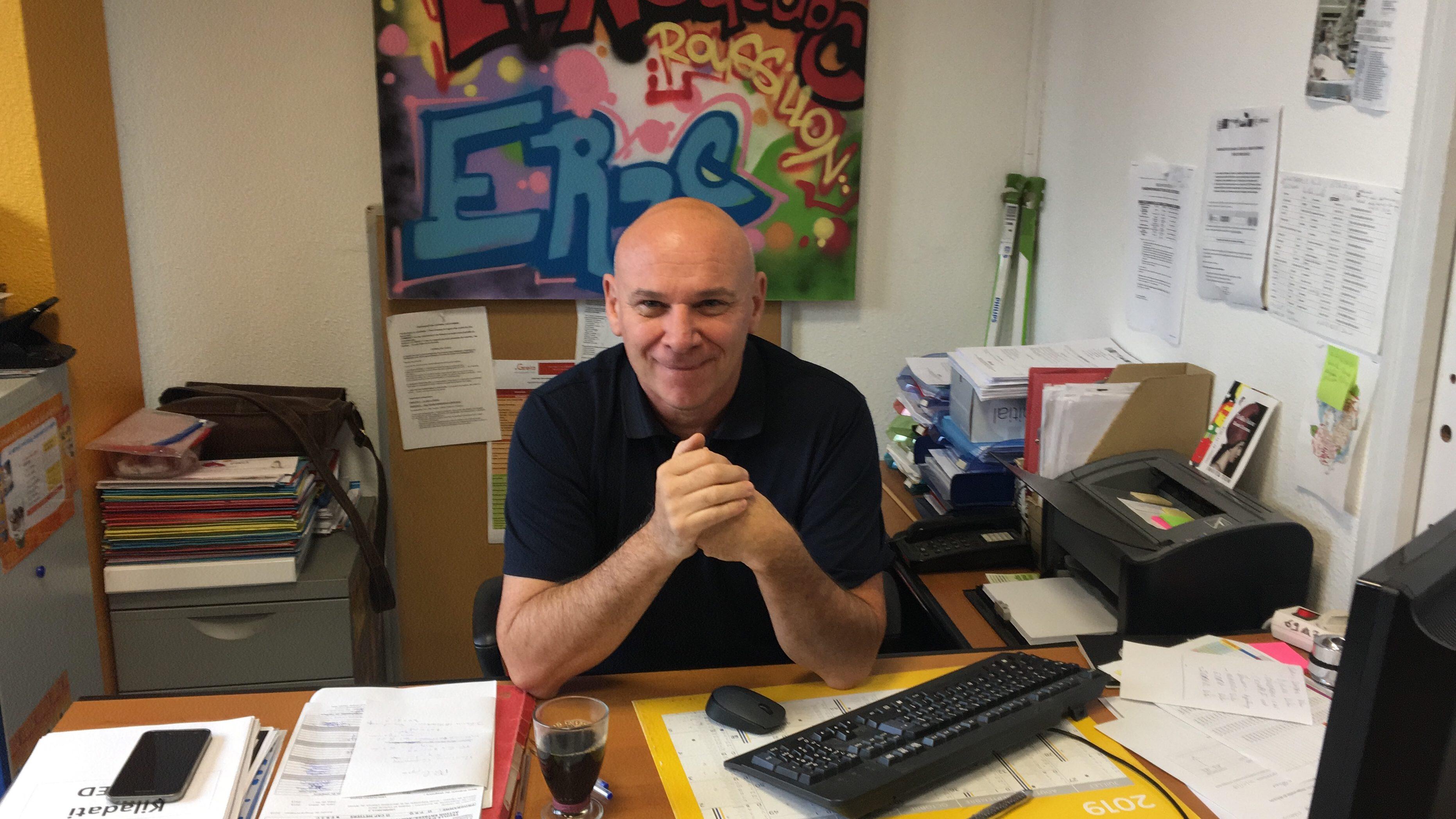 Philippe Laurent, formateur engagé auprès des jeunes