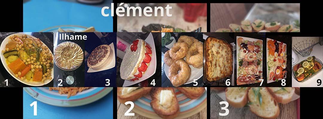 1e atelier photo @distance : «Qu'est-ce qu'on mange ?»